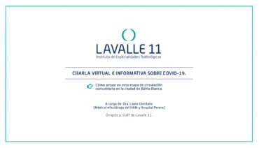 Charla informativa sobre COVID-19